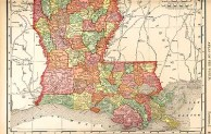 Rand McNally, Louisiana